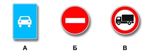 Какие знаки разрешают движение грузовым автомобилям с разрешенной максимальной массой до 3,5 т?