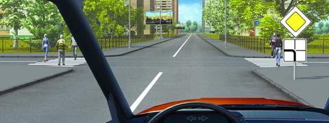 Вы обязаны уступить дорогу пешеходам: