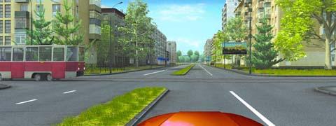 Следует ли при движении прямо уступить дорогу трамваю?