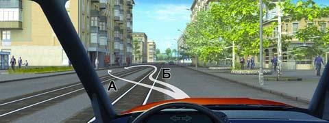 По какой траектории Вы можете подъехать к пассажирам?