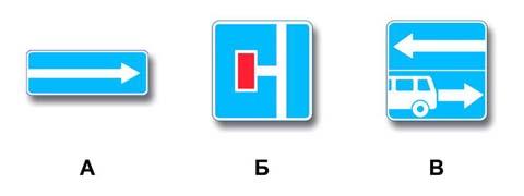 Какие знаки разрешают выполнить поворот налево?