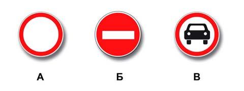 Какие знаки разрешают Вам проезд на автомобиле к месту проживания?