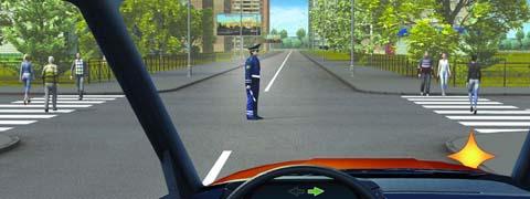 Разрешено ли Вам повернуть направо?