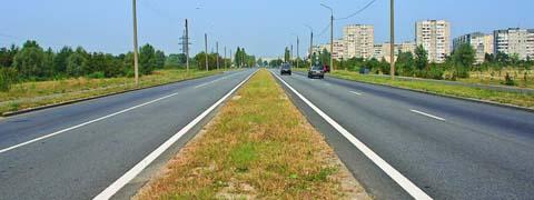 Сколько полос для движения имеет данная дорога?