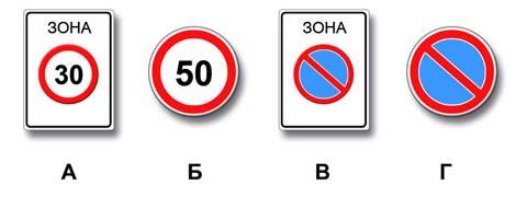 Действие каких знаков распространяется только до ближайшего по ходу движения перекрестка?