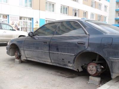 автомобиль без колес